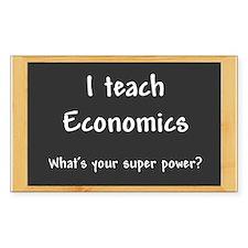 I teach Economics Decal