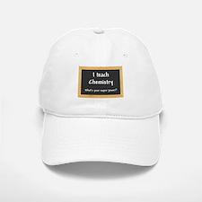I teach Chemistry Baseball Baseball Baseball Cap