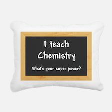 I teach Chemistry Rectangular Canvas Pillow