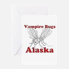 Vampire Bugs Alaska Greeting Card