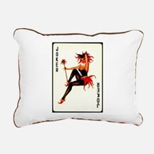 Joker Rectangular Canvas Pillow