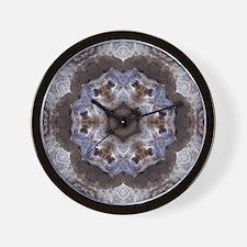 Groundhog Mandala Wall Clock