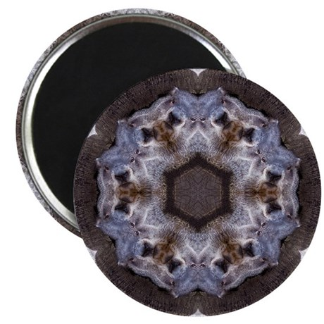 "Groundhog Mandala 2.25"" Magnet (10 pack)"