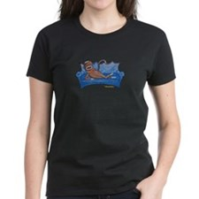 Blue Sofa Sock Monkey Tee