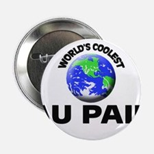 "World's Coolest Au Pair 2.25"" Button"