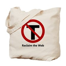 NoTrust - Reclaim the Web Tote Bag