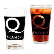 Q Branch Drinking Glass