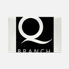 Q Branch Rectangle Magnet