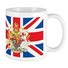 British Flag with Royal Crest Mug