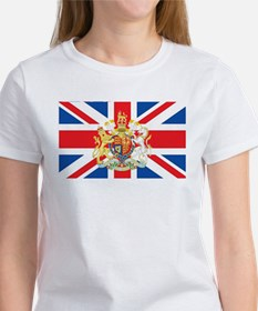 British Flag with Royal Crest T-Shirt