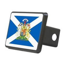 Scottish Flag with Royal Crest Hitch Cover