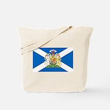 Scottish Flag with Royal Crest Tote Bag
