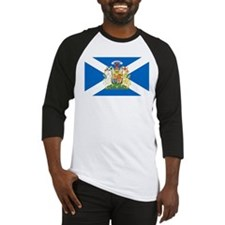 Scottish Flag with Royal Crest Baseball Jersey