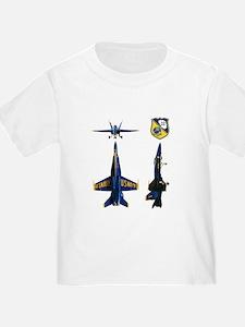 Blue Sillouette T-Shirt