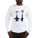 Blue angels Long Sleeve T-shirts