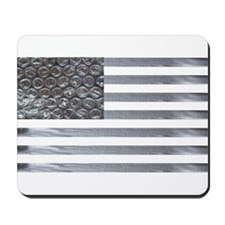 Bubble Wrap and Duct Tape Flag Mousepad