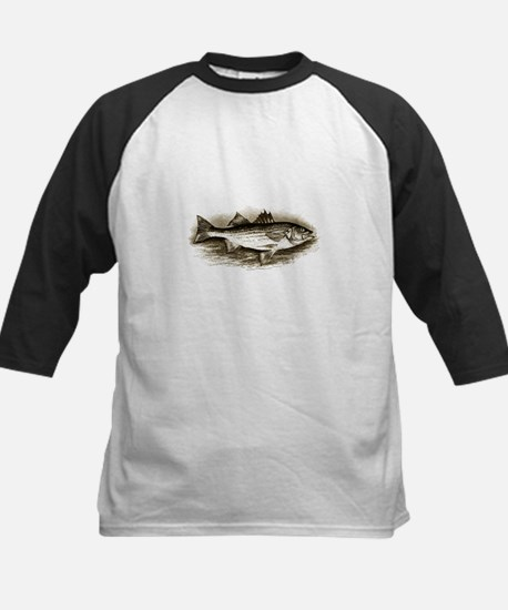 Striped Bass Logo (vintage) Baseball Jersey