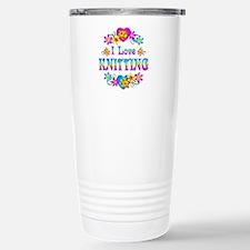 I Love Knitting Travel Mug