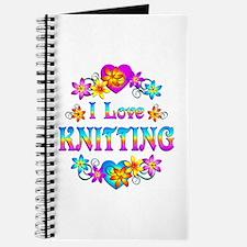 I Love Knitting Journal