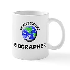 World's Coolest Biographer Mug