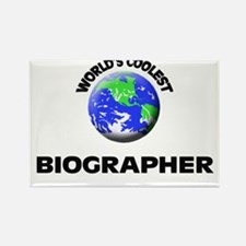 World's Coolest Biographer Rectangle Magnet