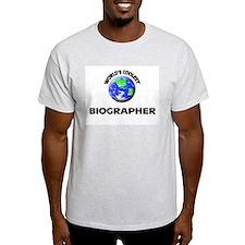 World's Coolest Biographer T-Shirt