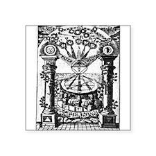Jachin-Boaz Pillars Sticker