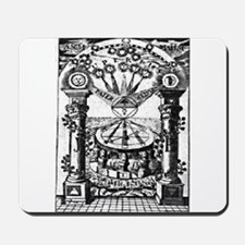 Jachin-Boaz Pillars Mousepad