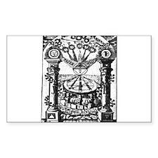 Jachin-Boaz Pillars Decal