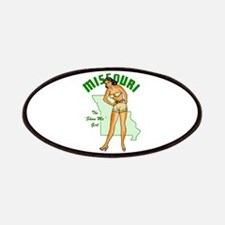 Vintage Missouri Pinup Patches