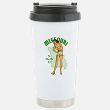 Vintage Missouri Pinup Travel Mug