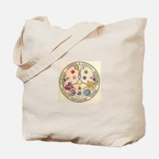 Rosicrucian Rose Tote Bag