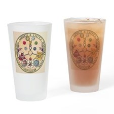 Rosicrucian Rose Drinking Glass