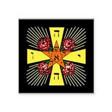 Rosy Cross Sticker