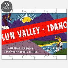 Sun Valley Idaho Puzzle