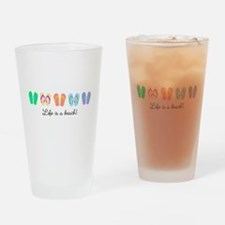 Personalize It, Flip Flop Drinking Glass