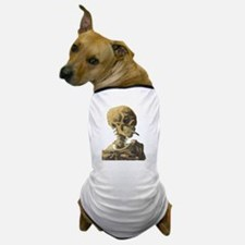 Smoking Skeleton Dog T-Shirt