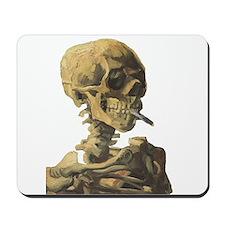 Smoking Skeleton Mousepad