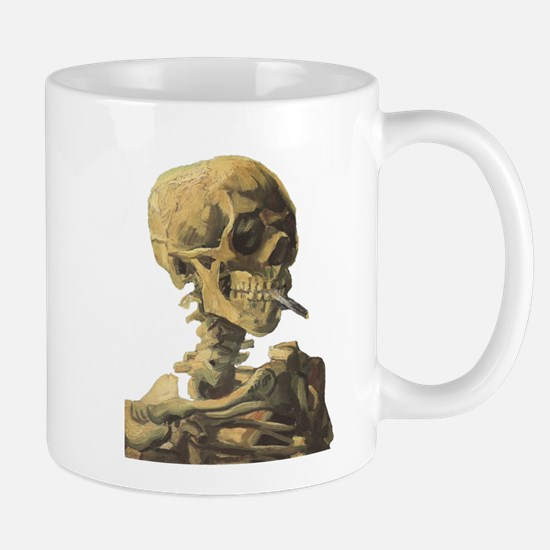 Smoking Skeleton Mug
