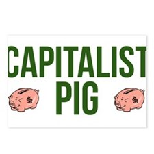 Capitalist Pig Postcards (Package of 8)