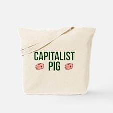 Capitalist Pig Tote Bag
