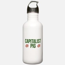 Capitalist Pig Water Bottle