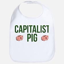 Capitalist Pig Bib