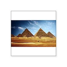 Pyramids at Khufu Sticker