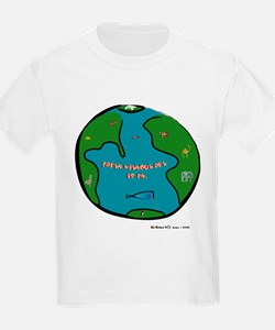 Earth Without Art Animals Kids T-Shirt