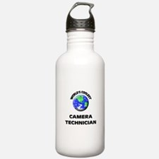 World's Coolest Camera Technician Water Bottle