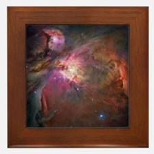 Orion Nebula Framed Tile