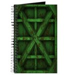 Rusty Shipping Container - green Journal