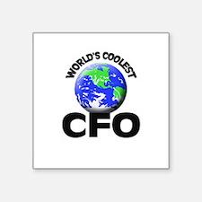 World's Coolest Cfo Sticker