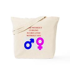 CURLNG Tote Bag